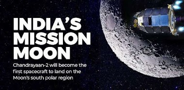 Second lunar exploration mission developed by the Indian Space Research Organisation