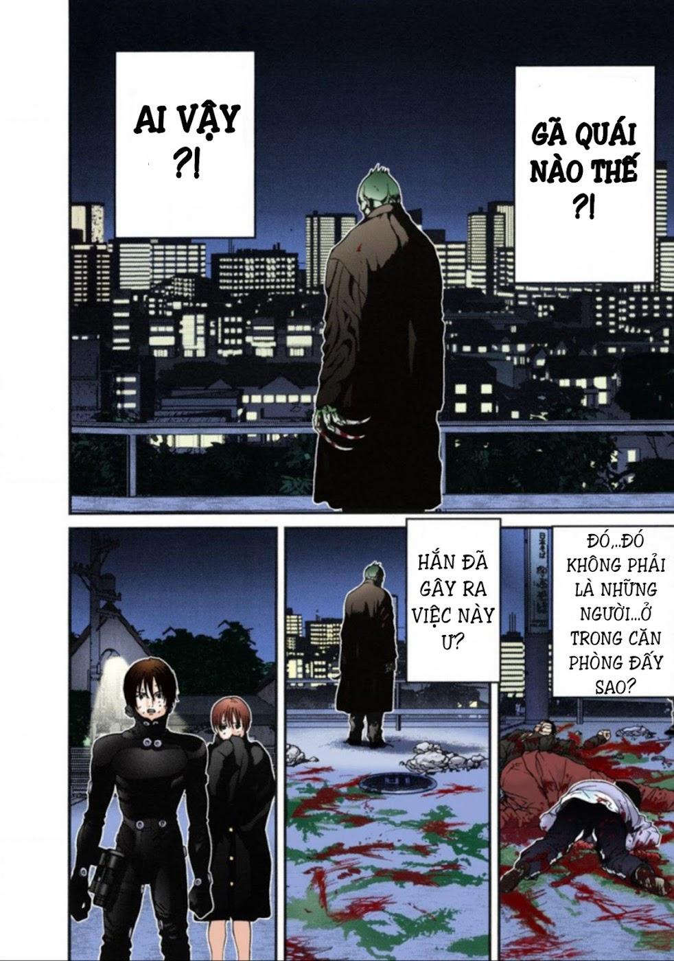 Gantz Chap 13: Đôi mắt trang 6