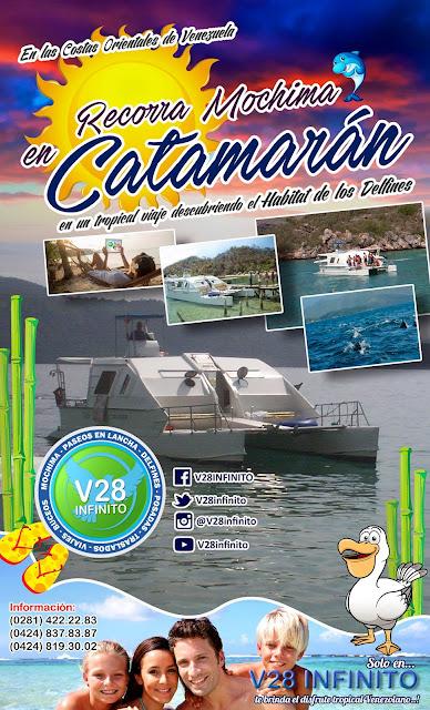 imagen mochima catamaran