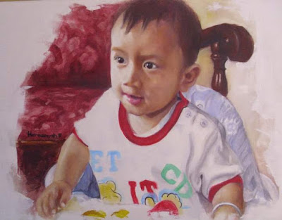Portrait Painting of Hafi