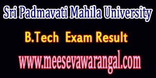 Sri Padmavati Mahila University B.Tech IT 2nd Year Jan 2016 Exam Results
