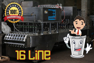 Full Automatic Cup Sealer 16 Line