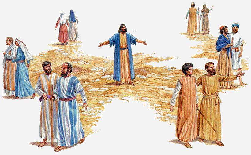 Resultado de imagem para JESUS ENVIA DOIS A DOIS