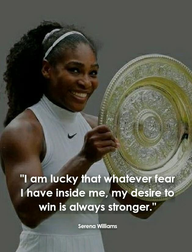 Serena Williams Inspirational quotes