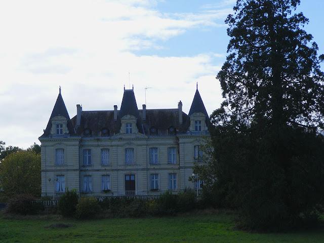 Chateau des Termelles, Abilly, Indre et Loire, France. Photo by Loire Valley Time Travel.