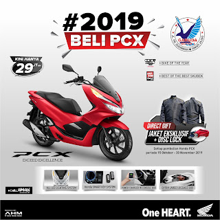 Promo Sepeda Motor Honda PCX150 Banyuwangi