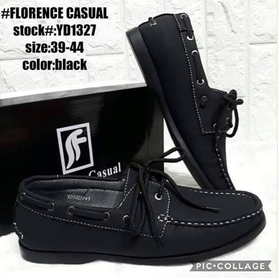 FLORENCE Casual Men's Shoes (Black)