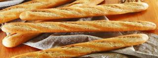 Baguette Makanan Perancis Panjang