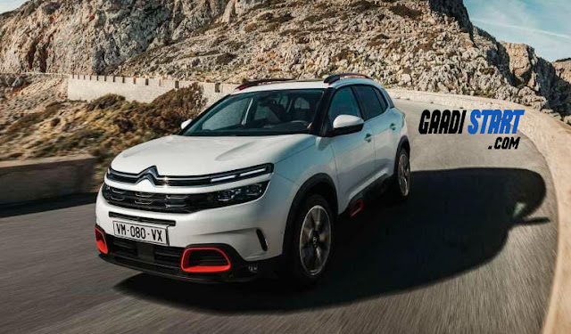 Citroen C5 Aircross officially launched date,specification and price.
