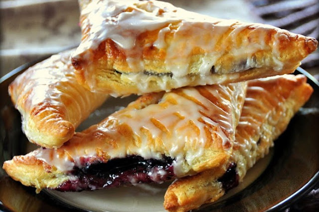 Blueberry Turnovers #desserts #pastry