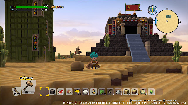 Dragon Quest Builders 2 chapters