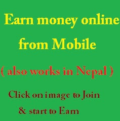 Earn money from your Mobile