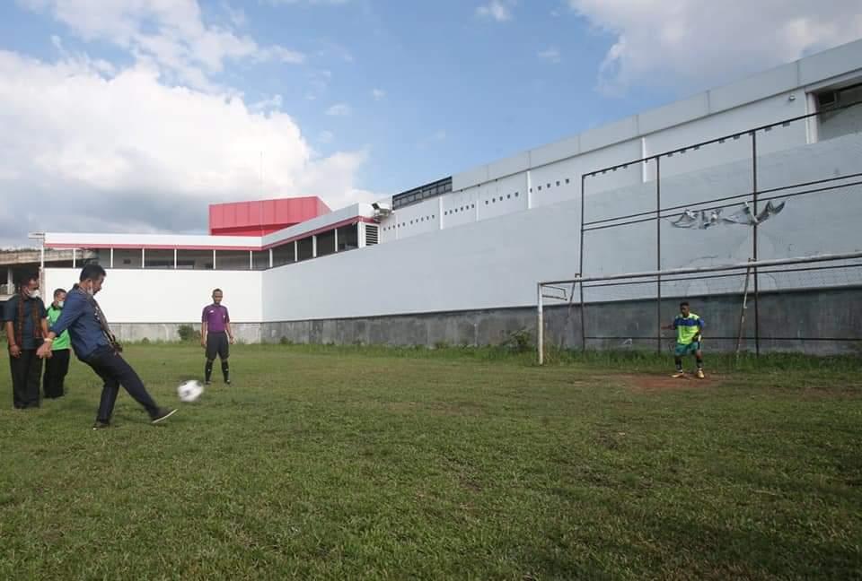 Ditengah Pandemi Covid-19, Rudi Ingin Olahraga Sepakbola di Kota Batam Dihidupkan Lagi