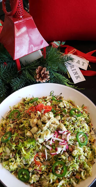 gluten free, vegan, salads, christmas food, recipe, healthy recipe