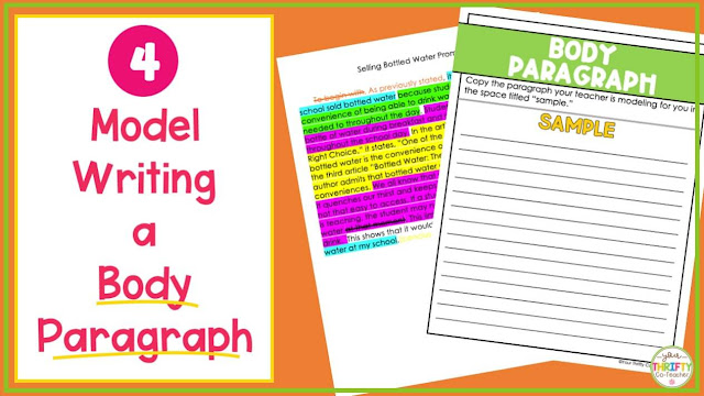 R.A.C.E. can be helpful for body paragraphs of opinion writing.