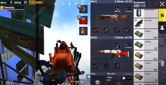 ملحقات تعزيز سلاح AR في لعبة ببجي موبايل