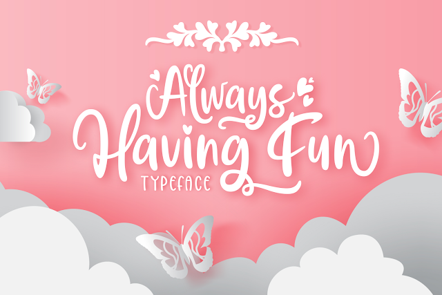 Always Having Fun Download Font Free