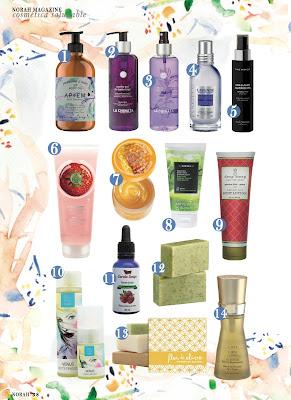 Norah Magazine y AmapolaBio,  cosmetica ecologica de lujo