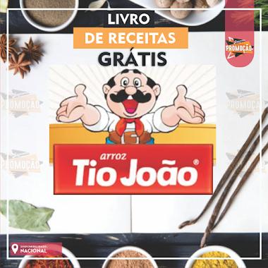 Brindes Grátis - Livro de Recitas Arroz Tio João