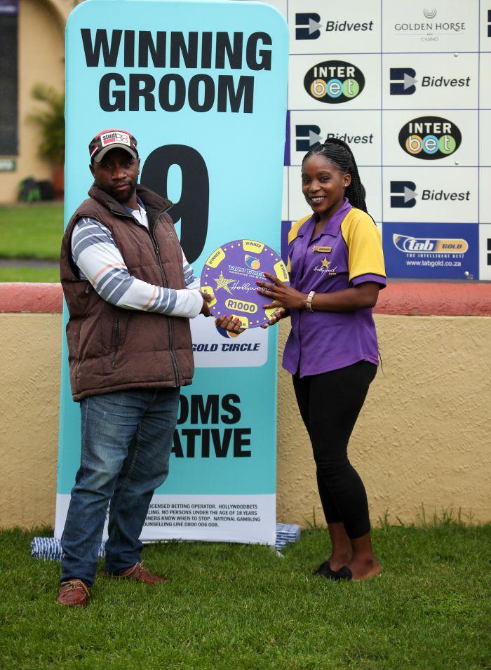 Grooms Initiative Winner - 15th December 2019 - Race 3 - Keketso Setshele - MASTER TOBE