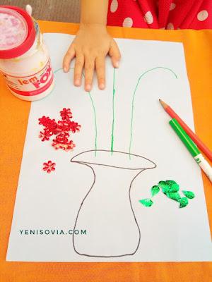 kegiatan sederhana dan alat juga bahannya mudah di dapatkan untuk anak usia dini