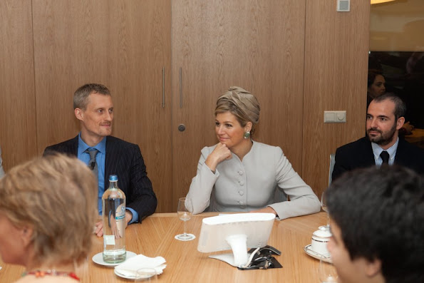 Queen Máxima attended the Startup-Bootcamp Demo Day and Investor Demo Day