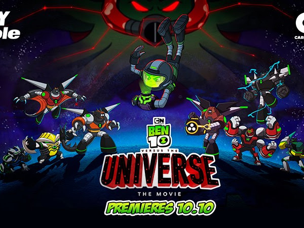 SKYCABLE BRINGS KIDS TO A GALACTIC ADVENTURE WITH NEW BEN 10 MOVIE ON CARTOON NETWORK