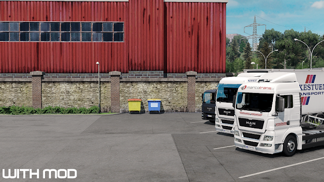 ets 2 no camera symbol mod v1.3 screenshots, with mod