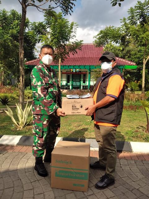 Batuan Logistik untuk Warga Bangkalan