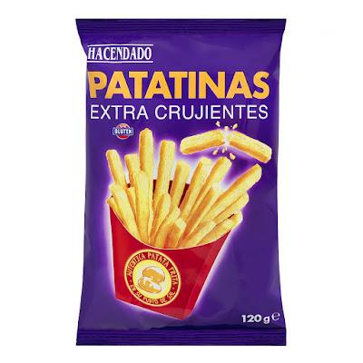 Patatinas extra crujientes Hacendado