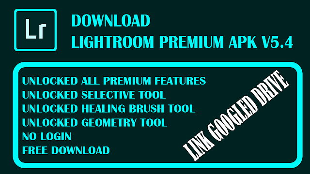 Lightroom CC Premium Android V5.4 Terbaru 2020