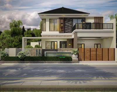 Minimalistische Haus Design Ideen 2 Etagen