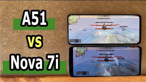 Galaxy A51 vs Nova 7i