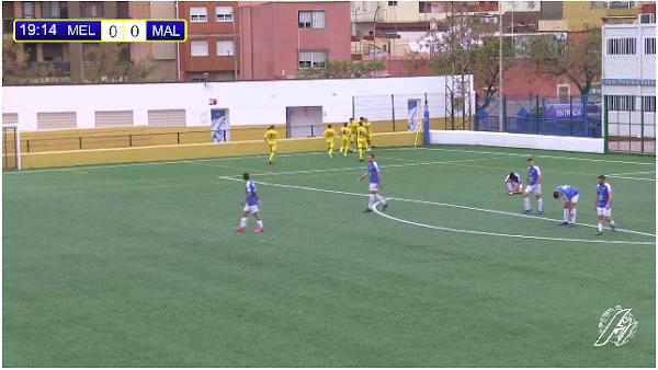 El Atlético Malagueño gana en La Espiguera al Melilla CD (0-2)
