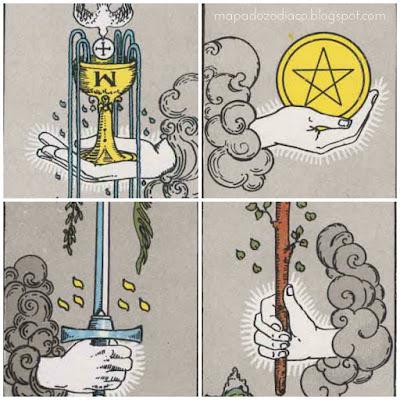 significado dos ases no tarot