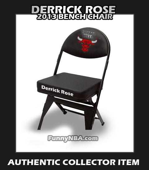 Folding Chair Jokes Hybrid Walker Transport Derrick Rose 2013 Funny Clips Nba Moments