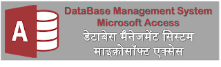 DBMS / MS ACCESS ONLINE TEST SERIES IN HINDI