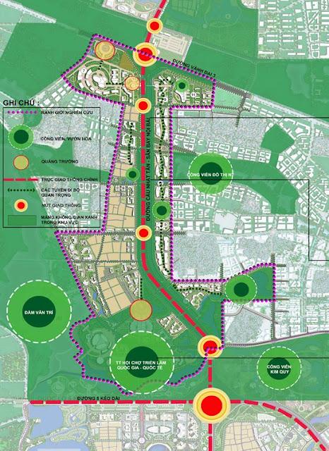 Quy hoạch Đông Anh trở thành nội đô mới của Hà Nội