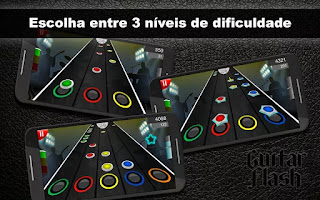Download Guitar Flash Mod v1.5.5 Hack and Guide Unlock All Song for Android Terbaru Gratis