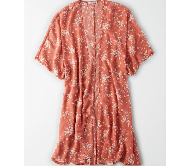 AE Printed Kimono