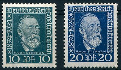 Germany Deutsches Reich 1924  Heinrich von Stephan
