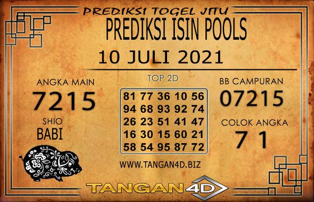 PREDIKSI TOGEL ISIN TANGAN4D 10 JULI 2021