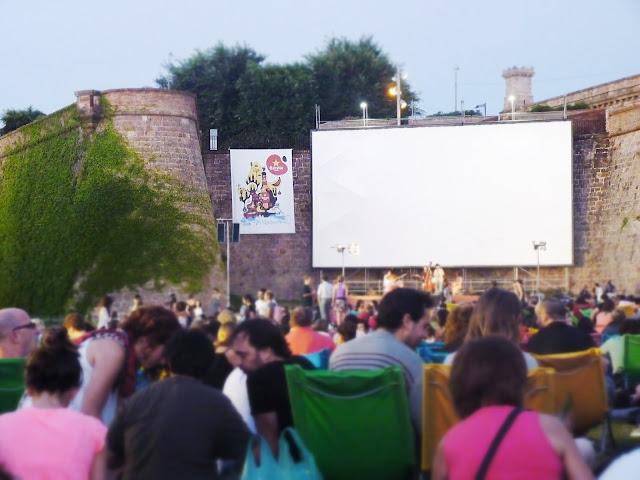 cinema a la fresca Montjuïc