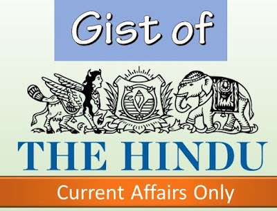 GIST of THE HINDU