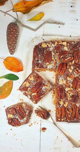 tarte healthy aux noix de pécan et son caramel de dattes