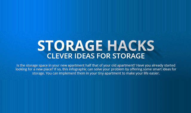 Storage Hacks Clever Ideas for Storage