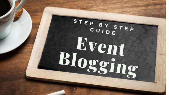 event blogging step by step