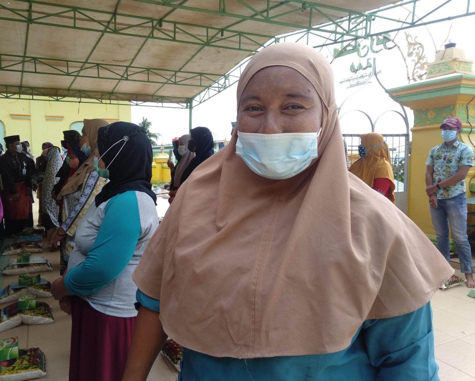 Hadiri Penyaluran Zakat ASN di Pulau Penyengat, Rahma : Air Bersih Akan Dialirkan ke Rumah Warga Dari SWRO