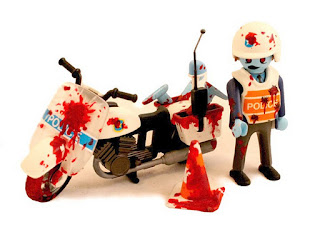 Gli Zombie Playmobil di Zombiemonkie