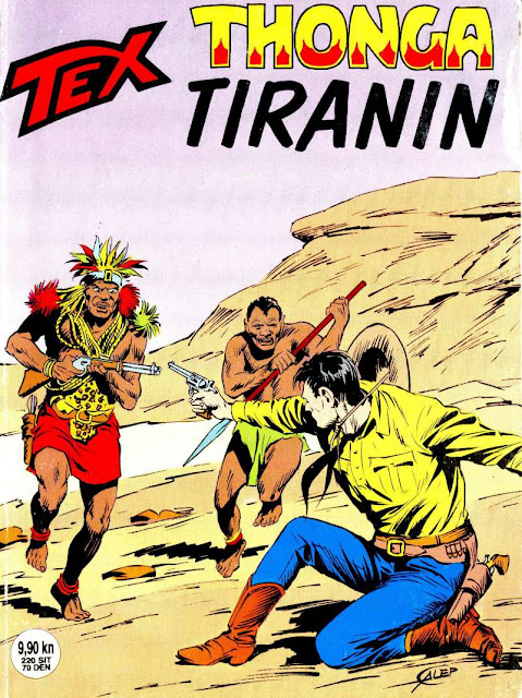 Thonga Tiranin - SD - Tex Willer